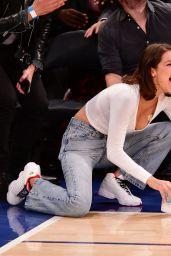 Bella Hadid - LA Lakers vs. New York Knicks Game in New York 12/12/2017