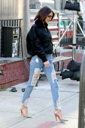 Bella Hadid - Out in New York City 12/11/2017