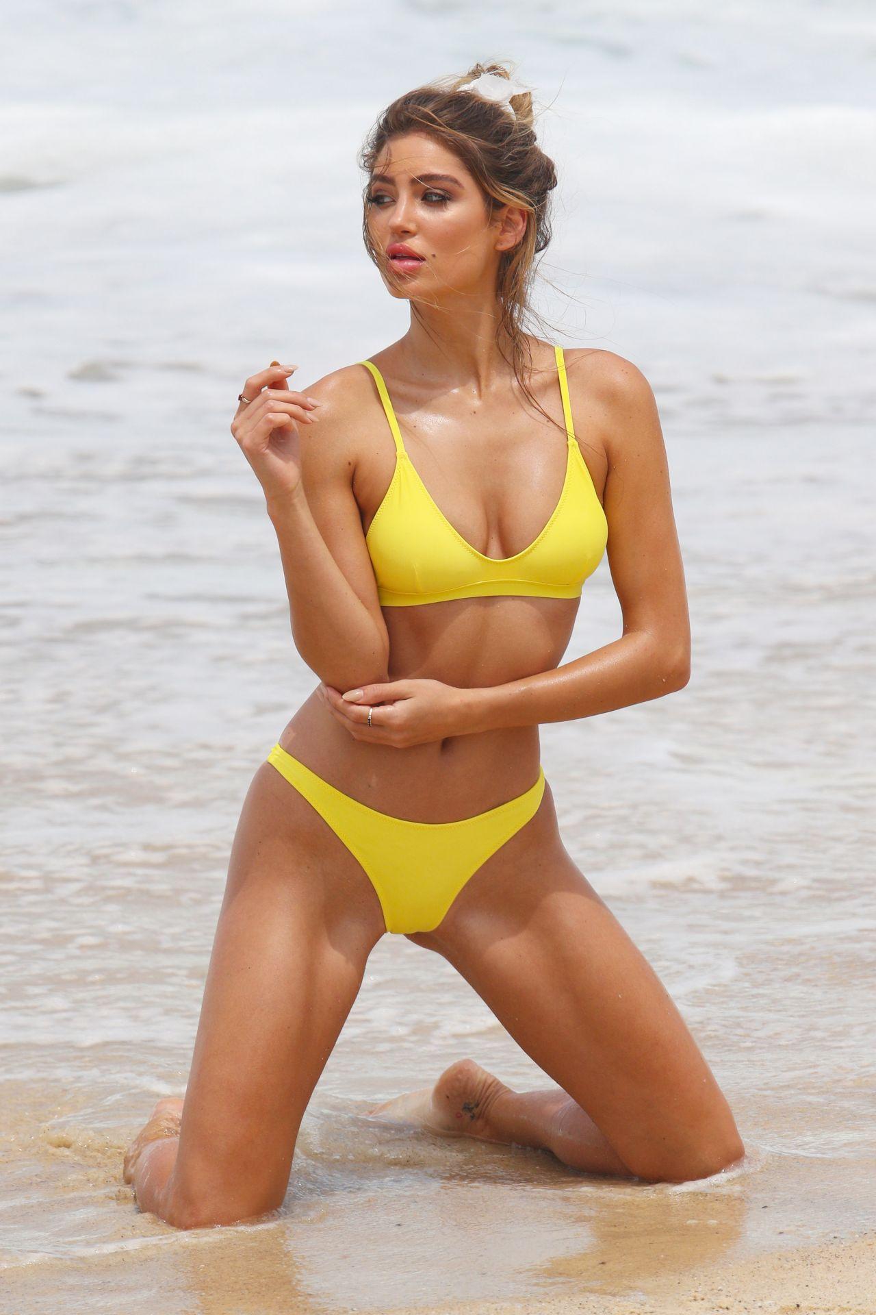 Bella Lucia Bikini Photoshoot on Bronte Beach Pic 17 of 35