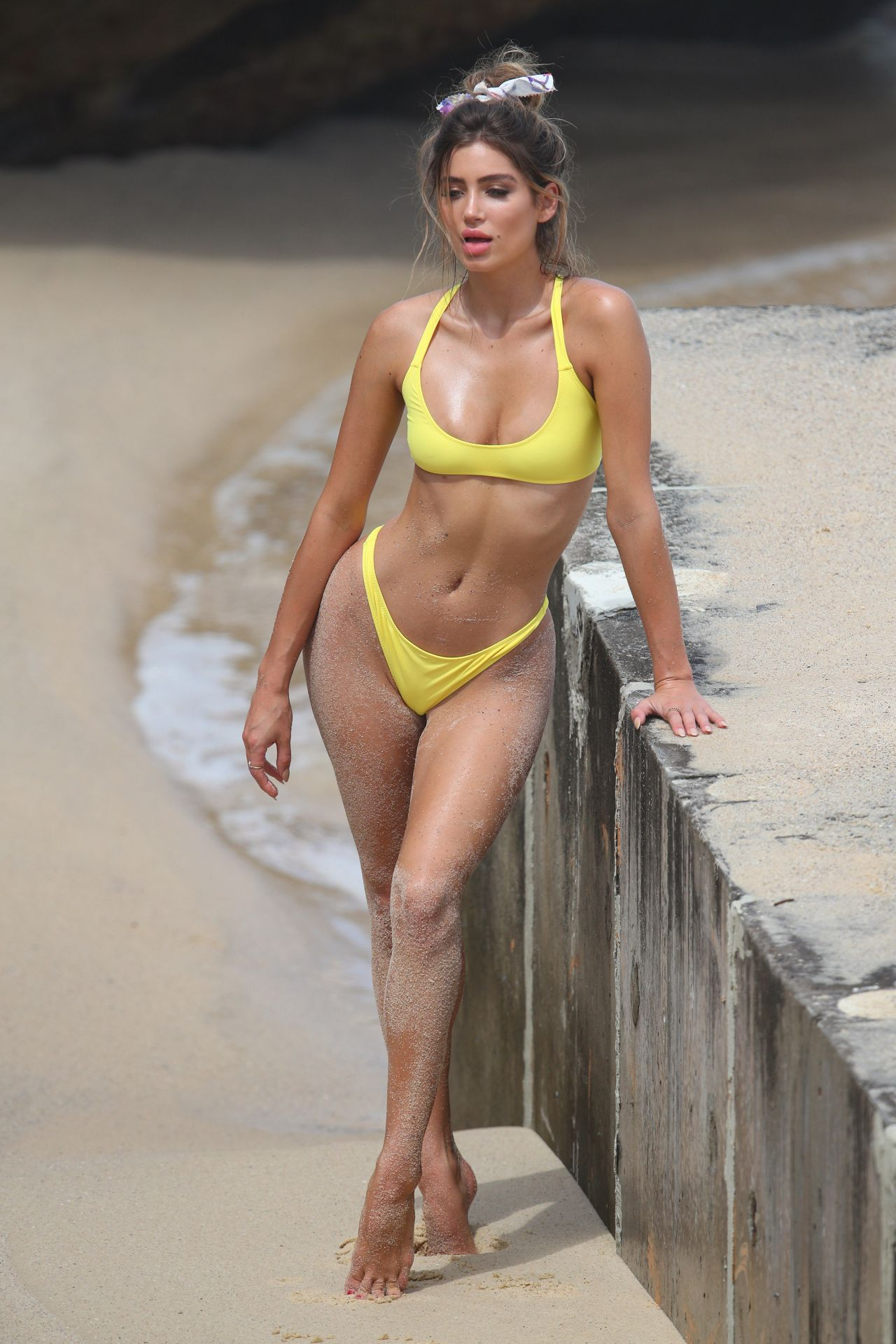 Bella Lucia Bikini Photoshoot on Bronte Beach Pics 4 of 35