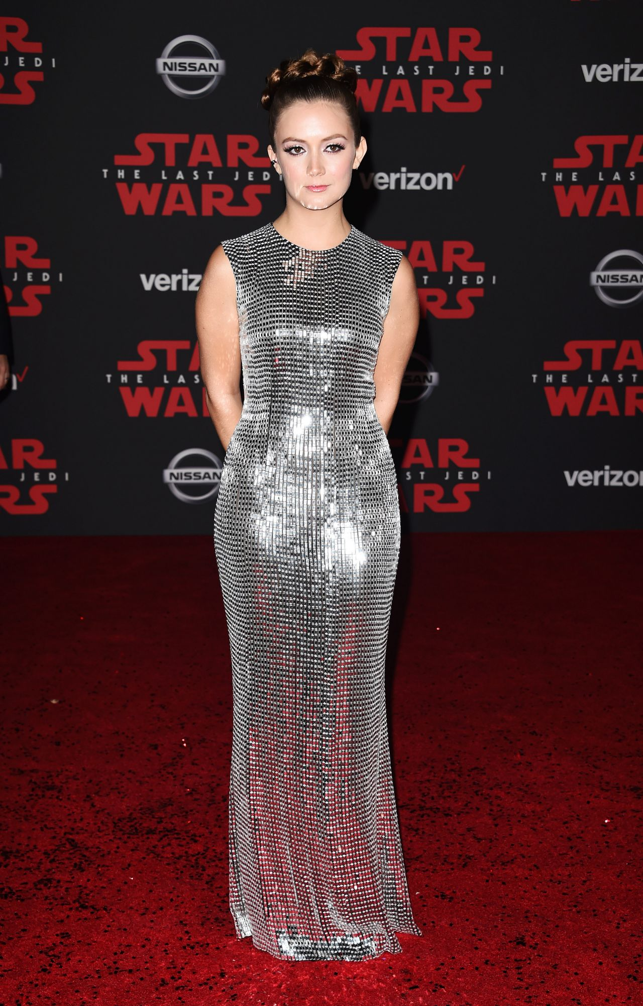 Billie Lourd Star Wars The Last Jedi Premiere In La