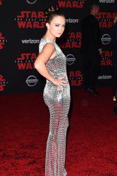 """Billie Lourd – """"Star Wars: The Last Jedi"""" Premiere in LA"""