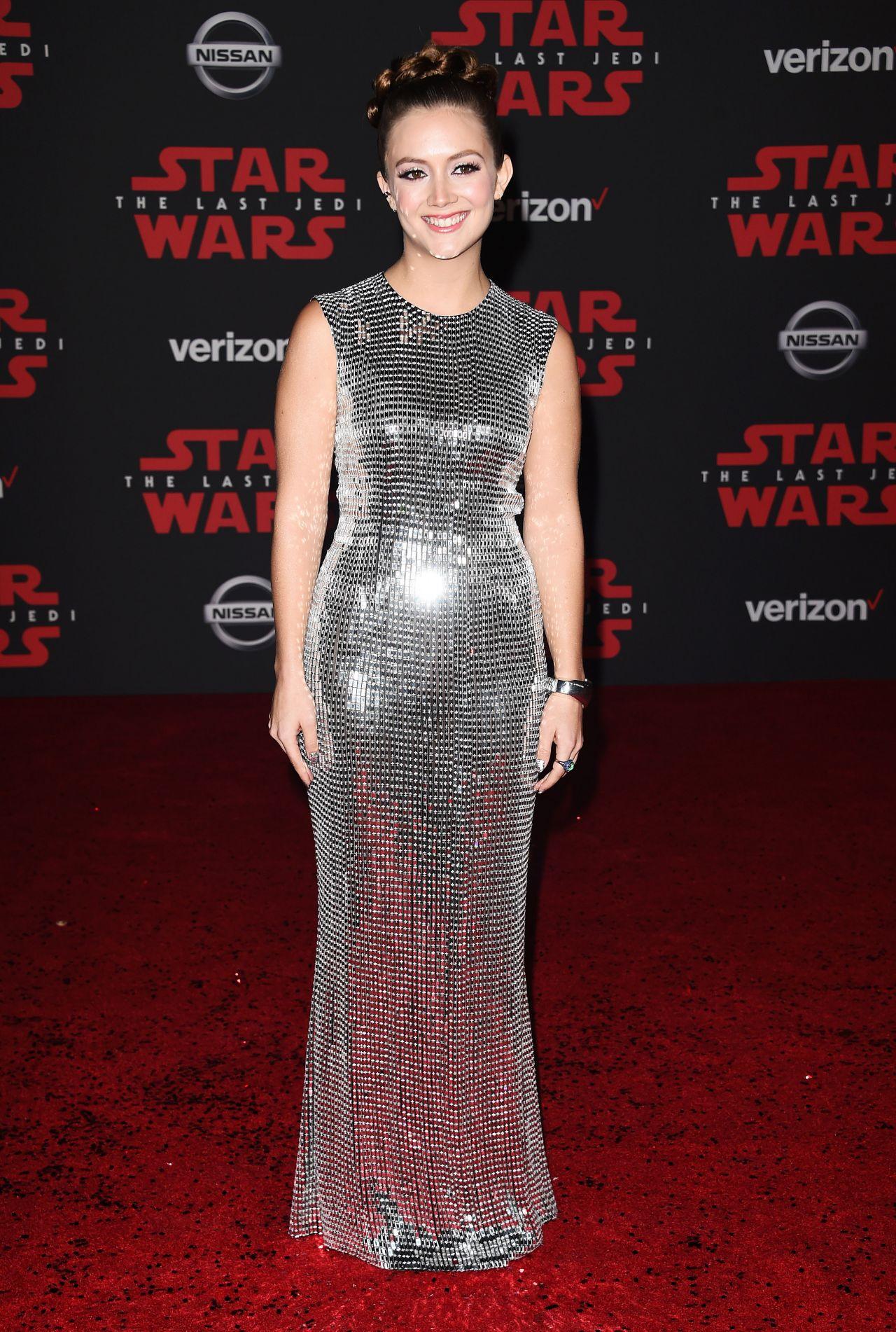 Billie Lourd Star Wars The Last Jedi Premiere In La
