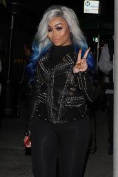 Blac Chyna Night Out Style - Poppy Club in West Hollywood