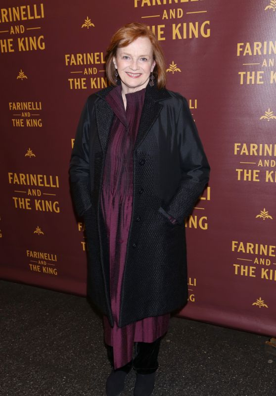 "Blair Brown – ""Farinelli and the King"" Opening Night in New York"