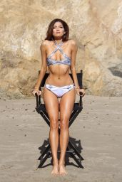Blanca Blanco in Bikini - Directors Chair Golden Tan Photoshoot in Malibu