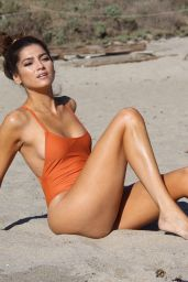Blanca Blanco in Swimsuit on Malibu Beach 12/20/2017
