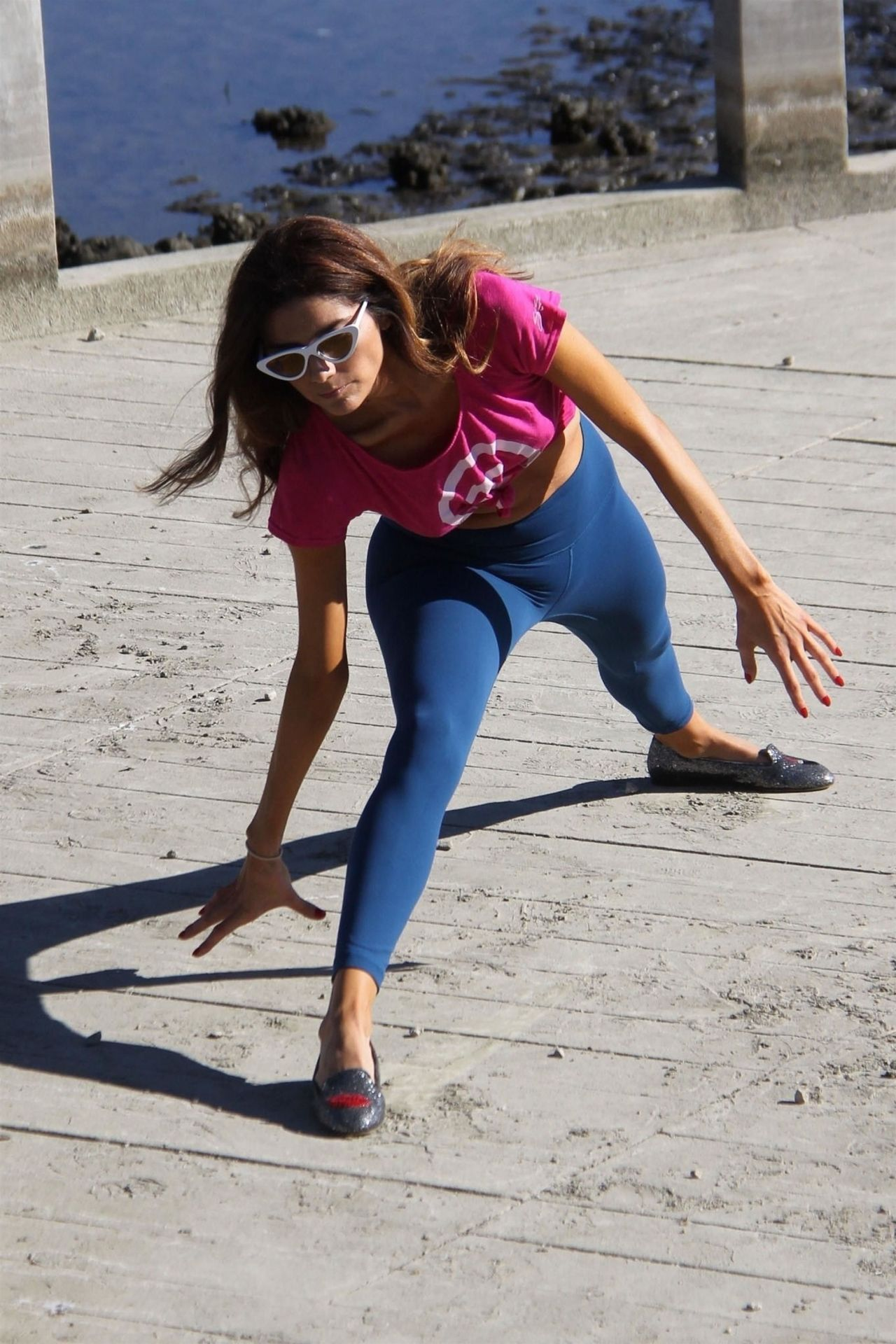 Blanca Blanco - Morning Workout in Malibu