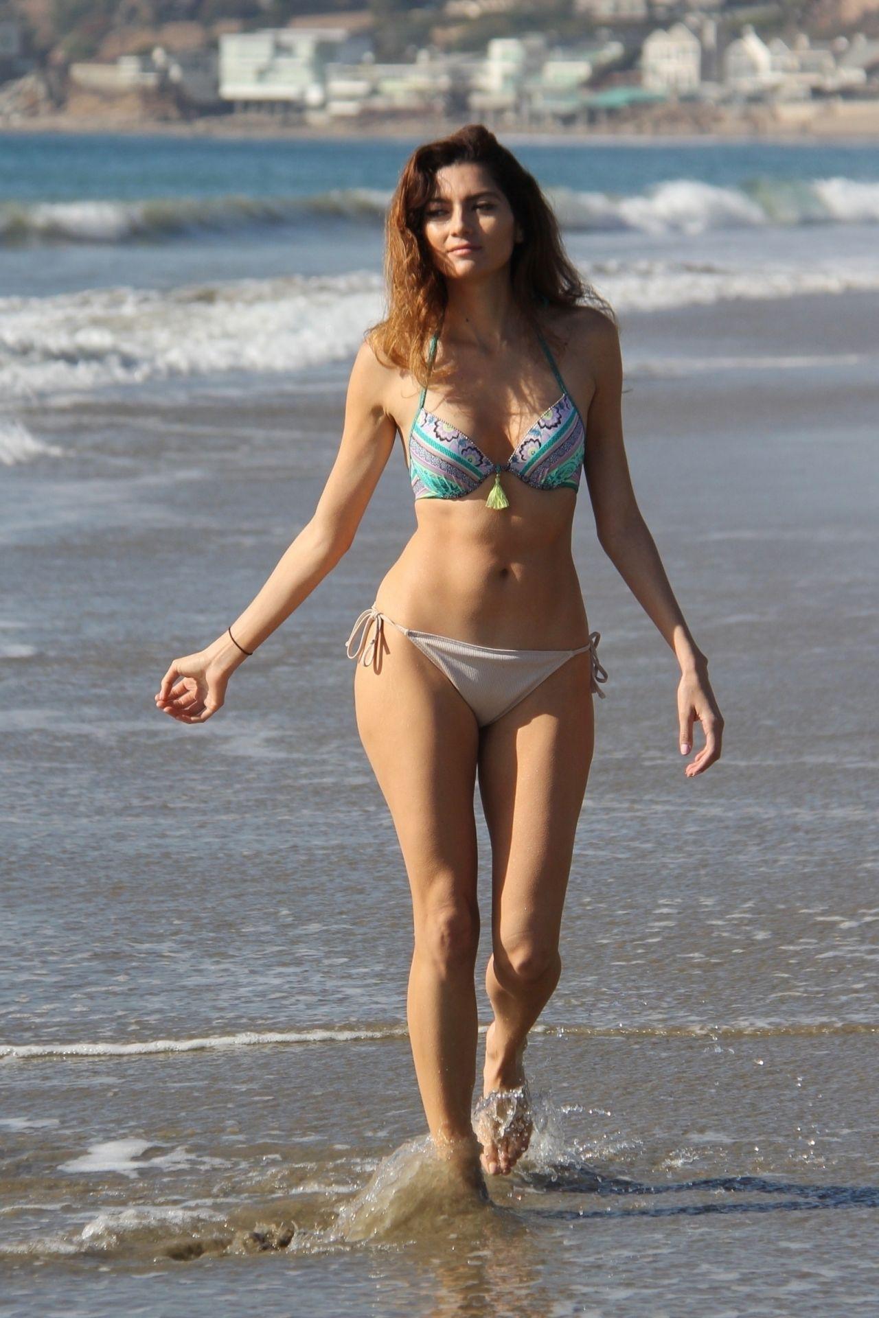 Blanca Blanco Shows Off Her Bikini Body At The Beach In Malibu