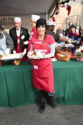 Bonnie Jill Laflin – Los Angeles Mission Serves Christmas to the Homeless