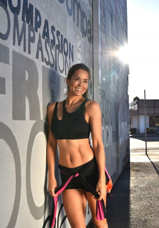 Brooke Burke-Charvet - Brooke Burke Body App Photoshoot in Malibu