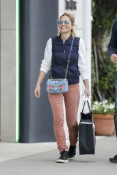 Candace Cameron Christmas shopping at Chanel in Los Angeles