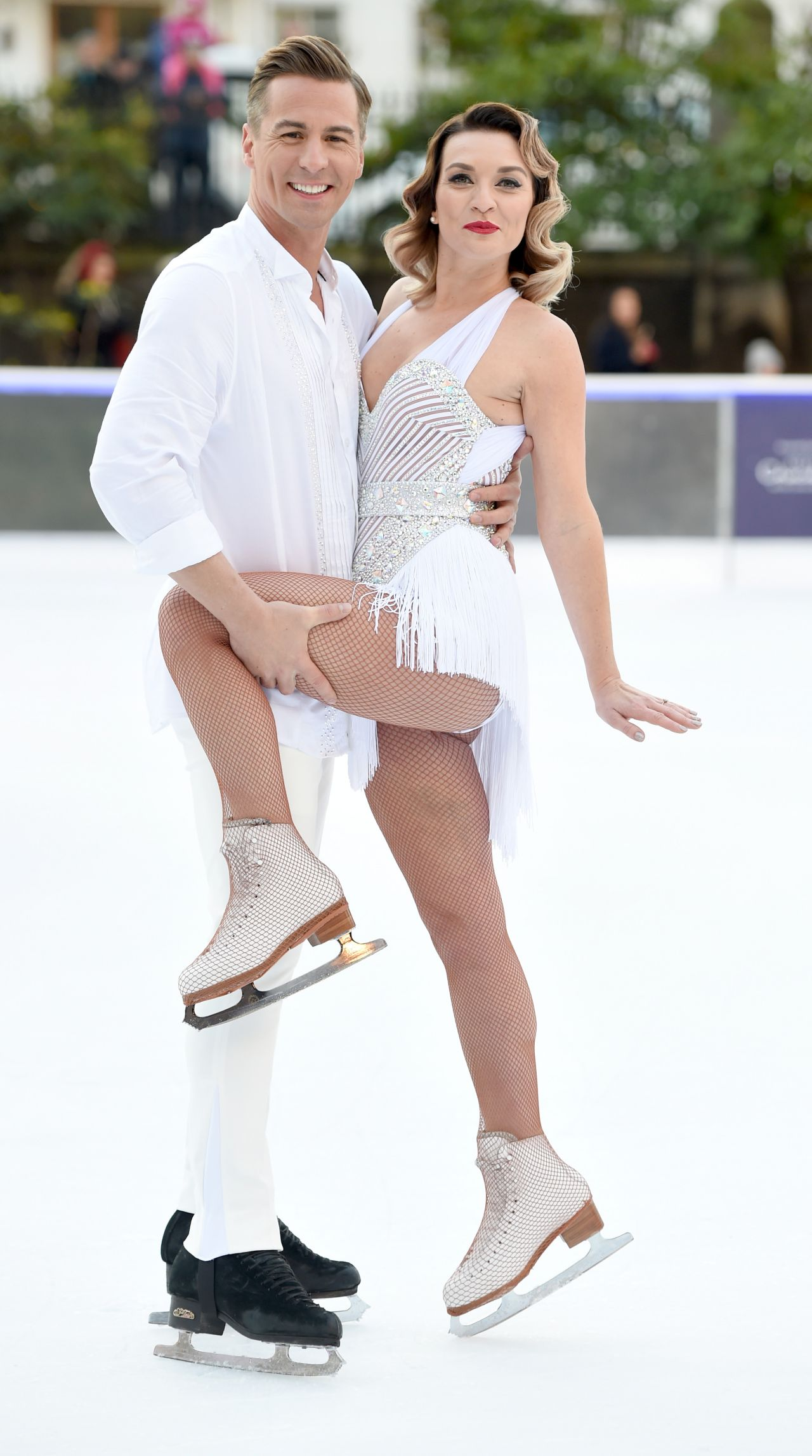 Candice Brown Dancing On Ice Photocall In London 12 19 2017 Celebmafia