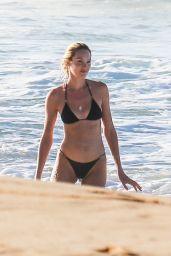 Candice Swanepoel in Tiny Bikini in Brazil 12/22/2017