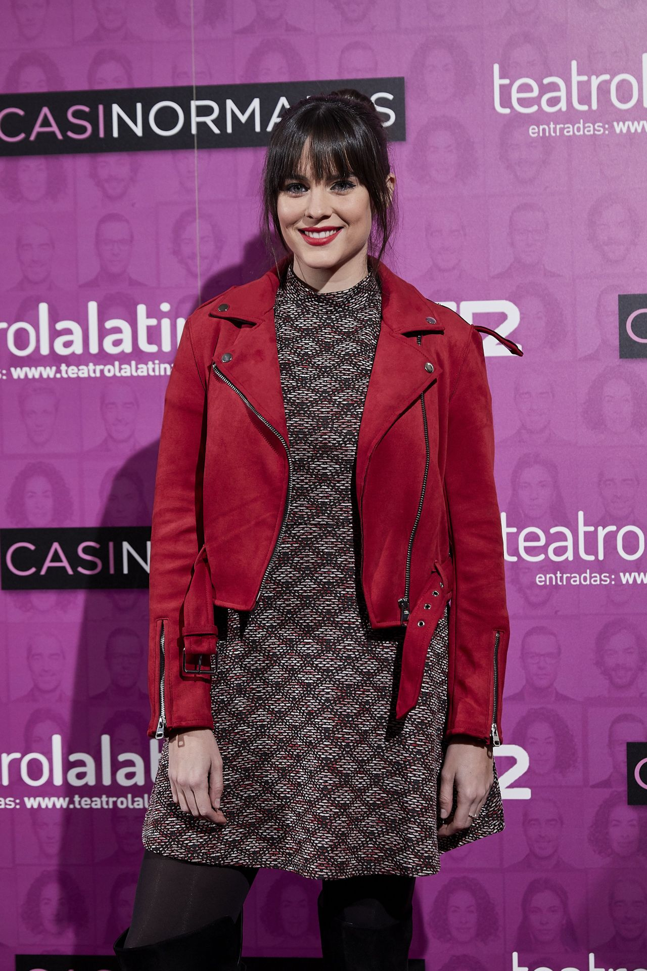 "Carmen Corazzini – ""Casi Normales"" Play Opening Night in Madrid"