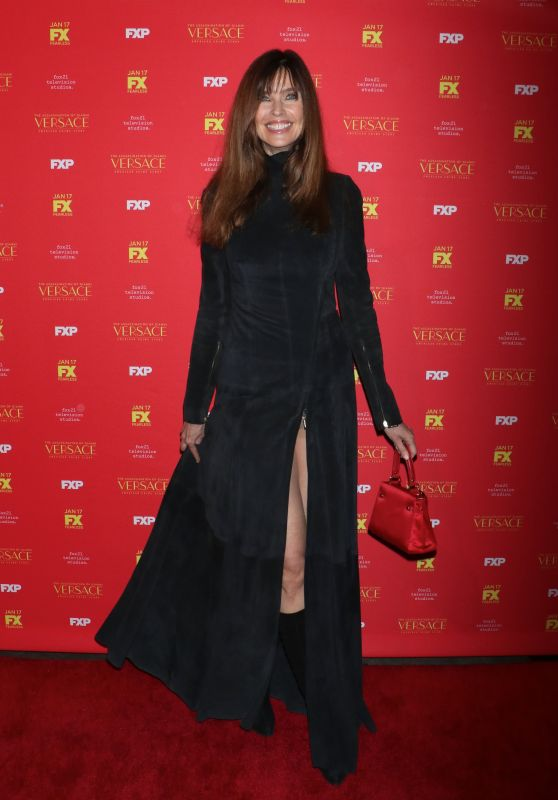 "Carol Alt – ""The Assassination of Gianni Versace American Crime Story"" TV Show Premiere in New York"