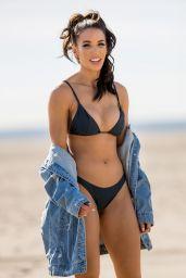 Casey Martin in Bikini - Photoshoot on the Beach in Santa Monica