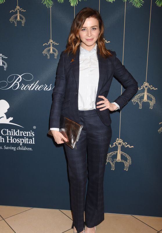 Caterina Scorsone – Brooks Brothers and St. Jude Annual Holiday Party in LA