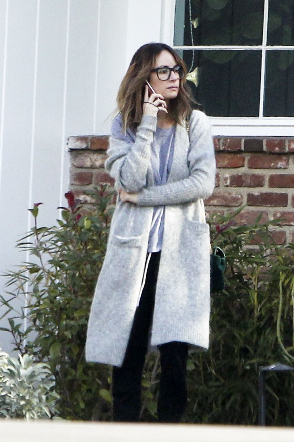 Catt Sadler Running Errands Around Los Angeles