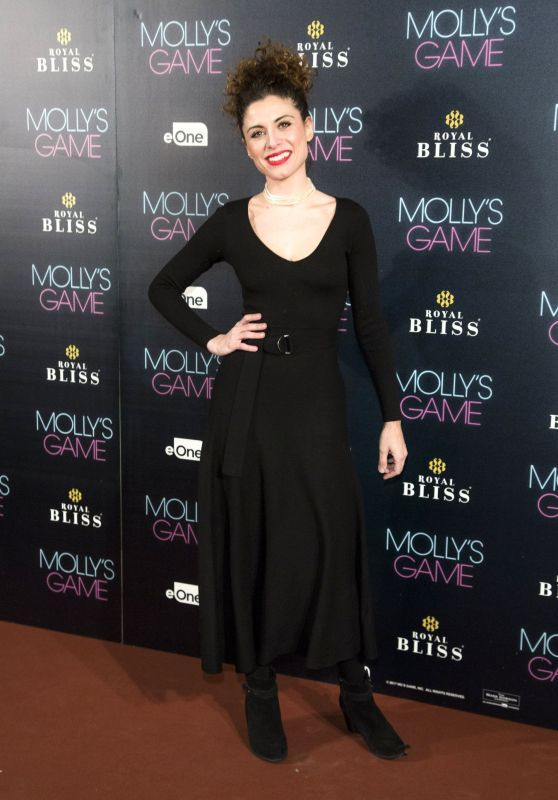 "Cayetana Cabezas – ""Molly's Game"" Premiere in Madrid"