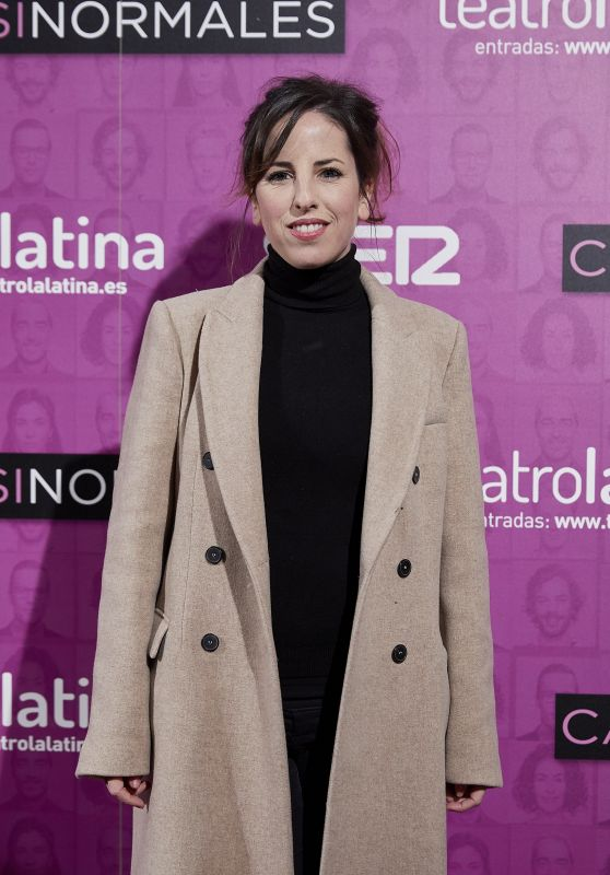 "Celia de Molina – ""Casi Normales"" Play Opening Night in Madrid"