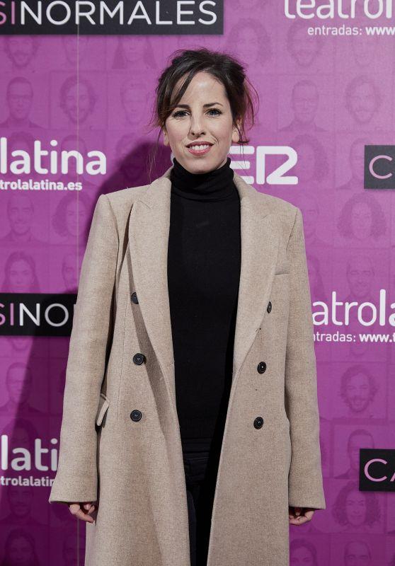 "Celia de Molina – ""Casi Normales"" Play Opening Night in Madrid"