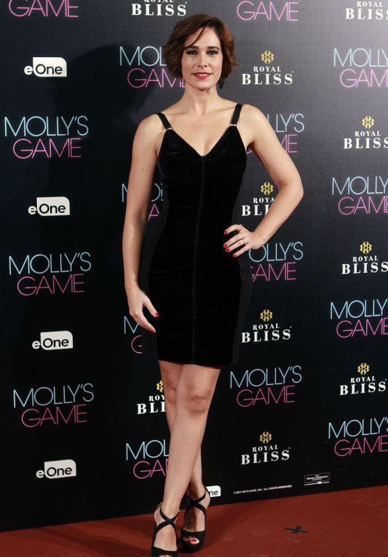 """Celia Freijeiro – """"Molly's Game"""" Premiere in Madrid"""