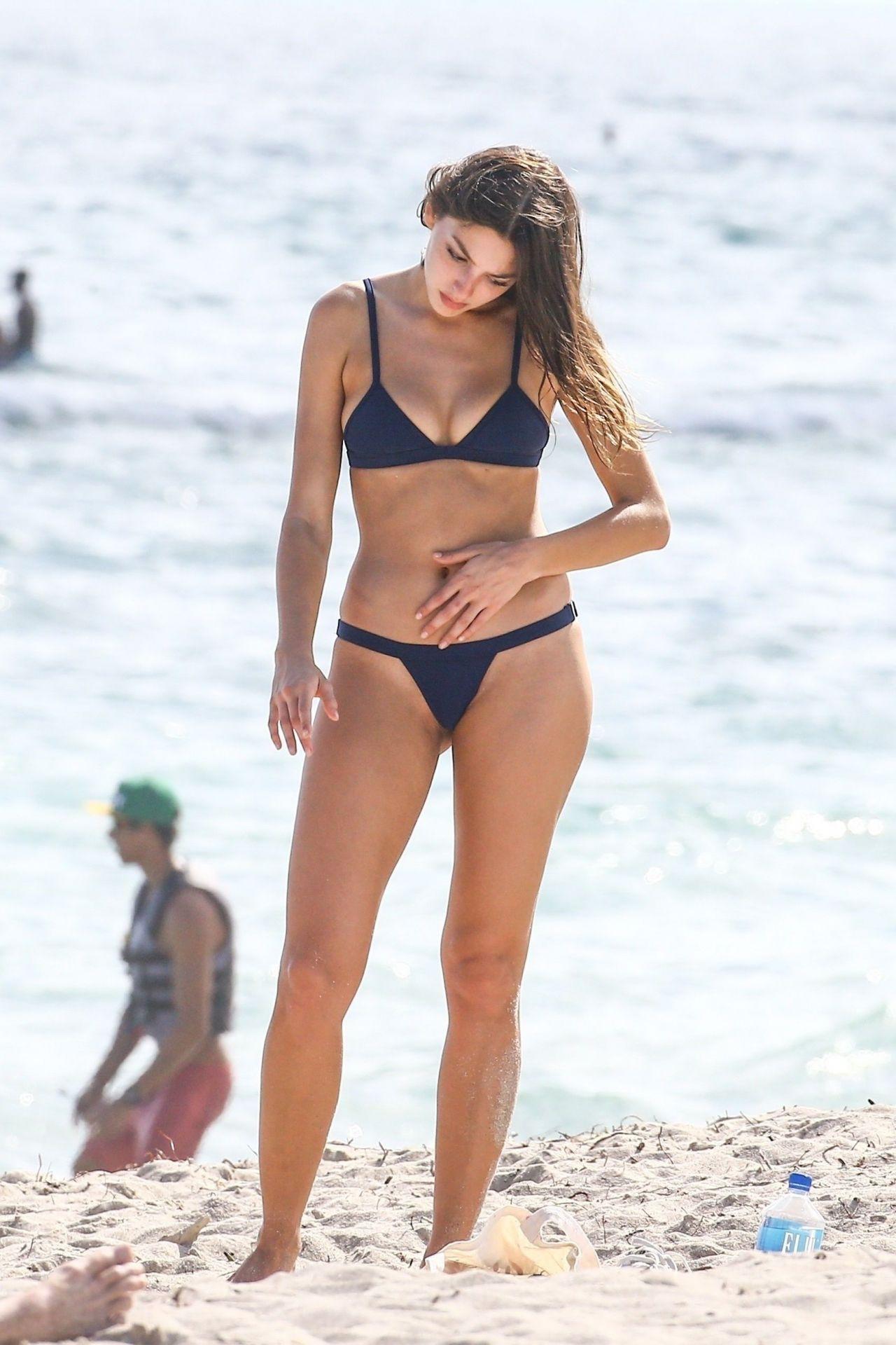 Celine Farach in Bikini in Miami 12/18/2017 • CelebMafia