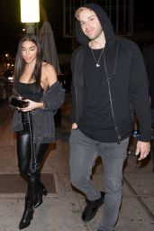 Chantel Jeffries - Leaving Delilah Club in West Hollywood 12/16/2017