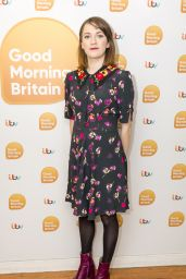 Charlotte Ritchie - Good Morning Britain TV Show in London 12/21/2017