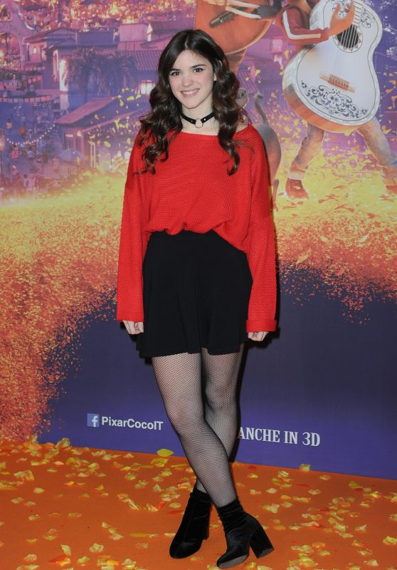 "Chiara Grispo - ""Coco"" Red Carpet in Milan"