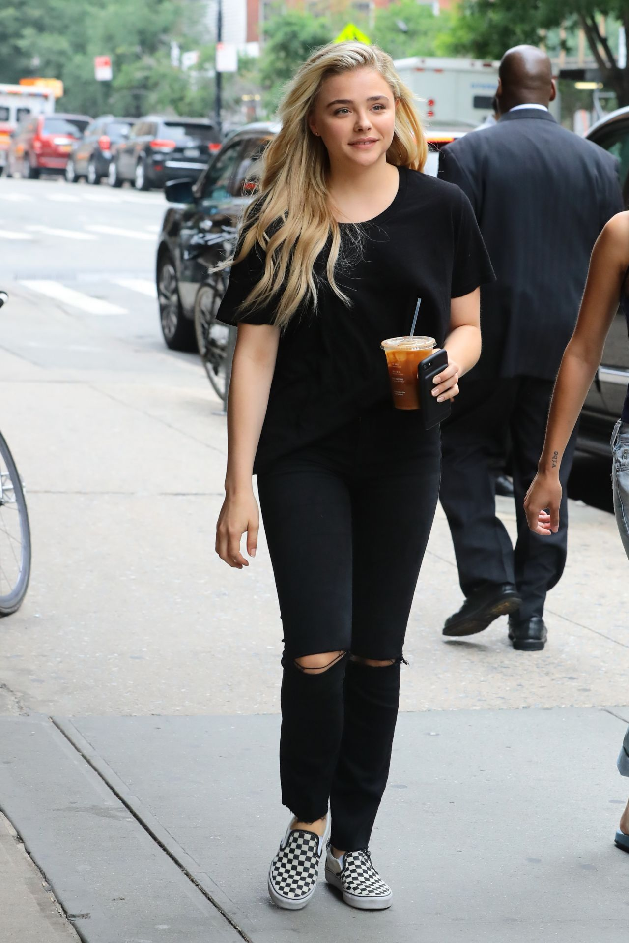 Chloe Moretz Street Style - Out in Beverly Hills - July