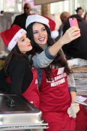 Christina DeRosa and Natasha Blasick – Los Angeles Mission Serves Christmas to the Homeless