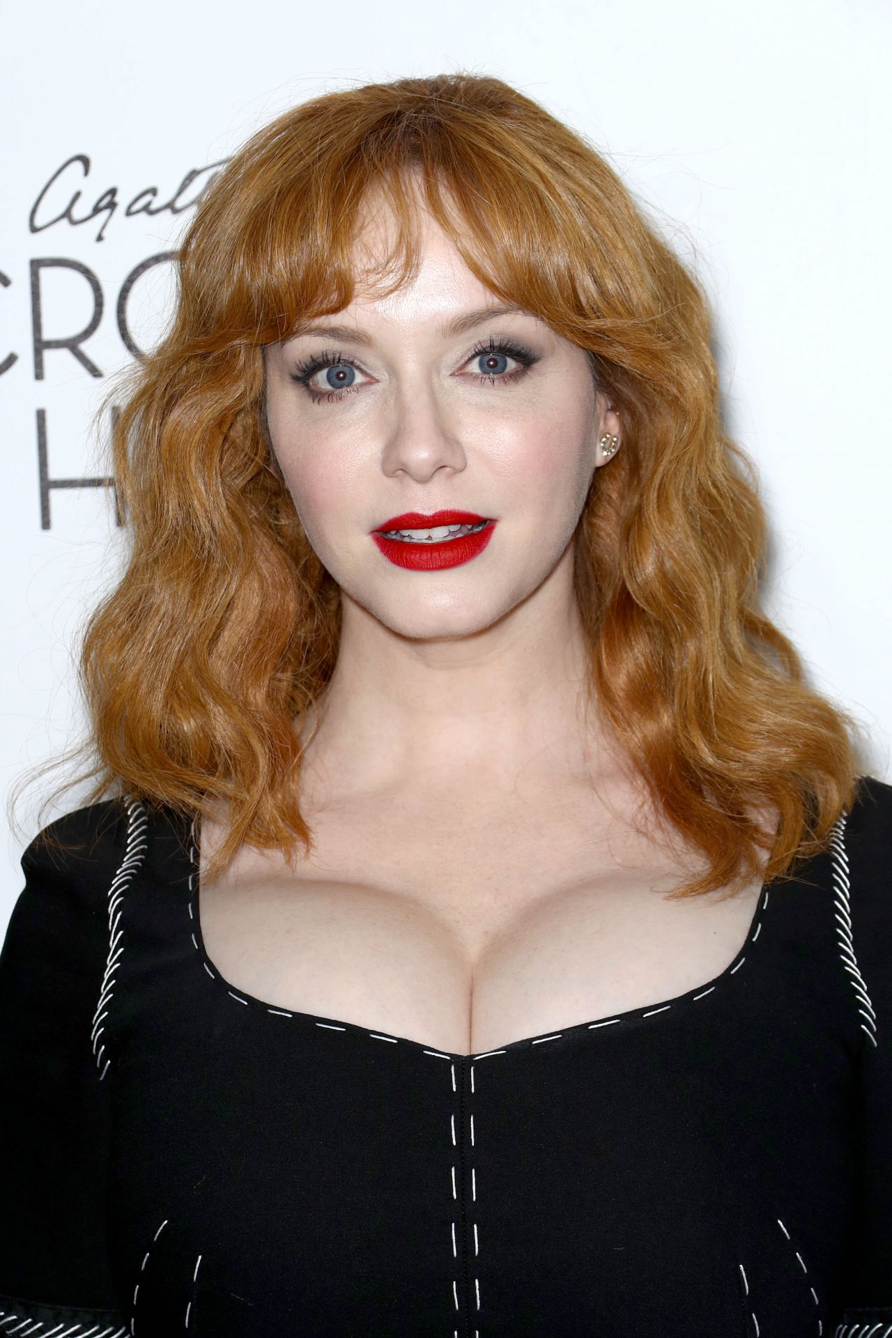Christina Hendricks Crooked House Premiere At