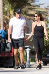 Cindy Crawford and Rande Gerber Take a Stroll in Miami Beach 12/06/2017