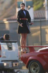 Cindy Crawford - Photoshoot in Malibu 12/09/2017