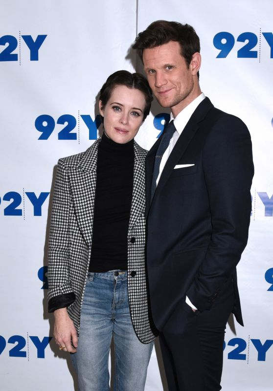 """Claire Foy and Matt Smith - """"The Crown"""" Screening in NYC"""