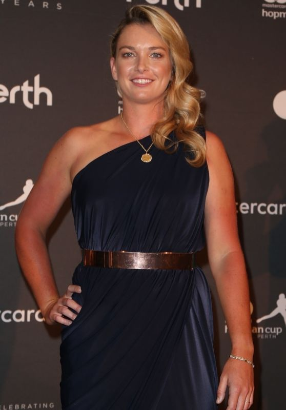 Coco Vandeweghe at Hopman Cup New Years Eve Players Ball in Perth