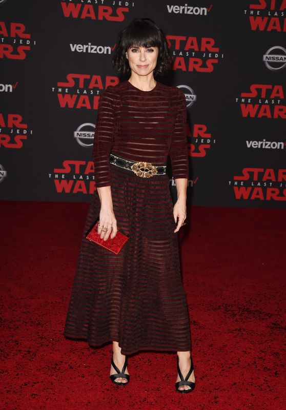 "Constance Zimmer – ""Star Wars: The Last Jedi"" Premiere in LA"