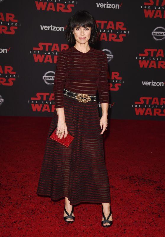 """Constance Zimmer – """"Star Wars: The Last Jedi"""" Premiere in LA"""