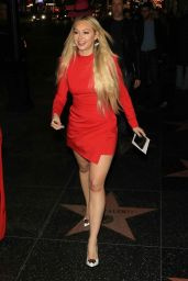 "Corinne Olympios - Leaves the ""Father Figures"" Premiere in Hollywood"