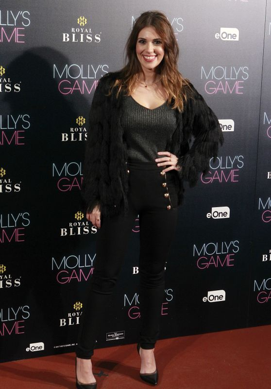 "Cristina Plaza – ""Molly's Game"" Premiere in Madrid"