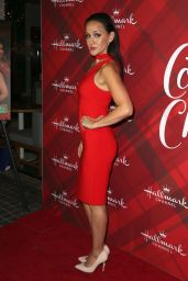 "Crystal Lowe – ""Christmas at Holly Lodge"" Screening in Los Angeles"