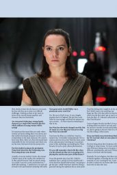 Daisy Ridley - Film Fame Fact Magazine December 2017 Issue