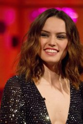 Daisy Ridley - The Graham Norton Show in London 12/13/2017
