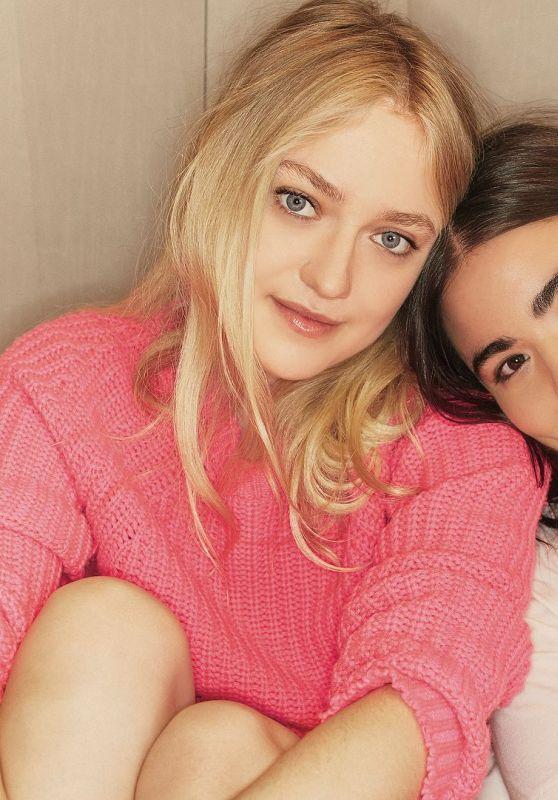 Dakota Fanning and Alessandra Garcia-Lorido - Glamour USA January 2018