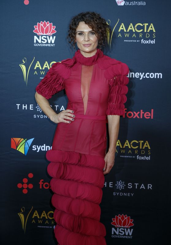 Danielle Cormack – AACTA Awards 2017 Red Carpet