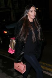 Danielle Lloyd Night Out in Sutton
