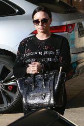 Demi Lovato - Christmas Shopping in Beverly Hills