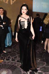 Dita Von Teese - American Ballet Theatre Holiday Benefit Gala in Los Angeles